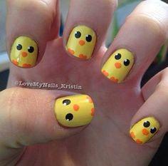 Peep nails!