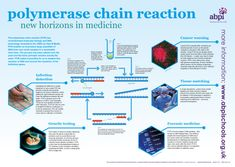 Understand how the DNA polymerase chain reaction works and is used in forensic science. Polymerase chain reaction (PCR) can be used in disease diagnosis, for example the diagnosis of avian influenza ('bird flu') Science Resources, School Resources, Chain Reaction, Forensic Science, Computer Science, Medicine, Cancer, Education, Website