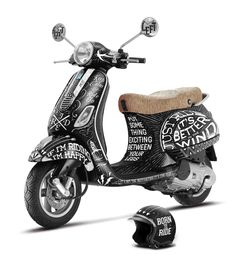 Art Vespa 2013 on Behance @By http://www.pinterest.com/189studio/cars-motorcycles/
