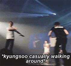 poor kyungsoo didn't even join the attack planned by the members yet he still got the punishment from suho lol (1/4)