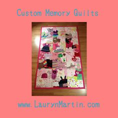 Memory Quilt | Baby Clothes Quilt | Tshirt Quilt