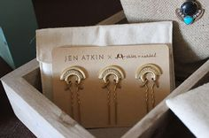 Small Crystal Pave Fan Pin Set, Jen Atkin Hair meets Chloe + Isabel Accessories. The perfect hair picks to add a little sparkle to your bridal hairdo, graduation outfit or black tie ensemble. Gold with pave accents, 3 piece set, nothing over $50