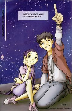 w.i.t.c.h was my favourite comic as a kid, and Hay Lin and Eric were such a cute couple!