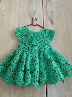 Top Quality Kid Girl Dress Baby Clothing Brand Ceremonies Party Dresses Girls Clothes Costumes For Girl Wedding Christening Gown Wanda … Crochet Party Dresses, Crochet Toddler Dress, Crochet Girls, Crochet Baby Clothes, Dresses Kids Girl, Girls Party Dress, Girl Outfits, Baby Knitting, Knitted Baby
