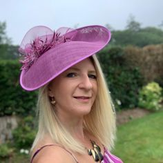 Join me today for Day 2 of #royalascotathome and help raise money for our frontline hero's and those affected by Covid-19 #styledwiththanks  The 'Aurora' headpiece is available for purchase on my website. Secured in place with a headband and comb. #hatforascot #royalascot #sinamayhat #crocus #hatinator #saucerhat #pinkhat #pinkmillinery #kentuckyderby #melbournecup #hatfortheraces #style #fashionhat #statementhat pinkmillinery #fashionista #lockdownlook #fotf #dressedup… Sinamay Hats, Fascinator Hats, Fascinators, Headpiece, Hat For The Races, Melbourne Cup, Pink Hat, Royal Ascot, How To Raise Money