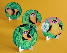 Coaster Art Show Coaster Art, Rooster, Character Design, Behance, Gallery, Check, Illustration, Painting, Roof Rack