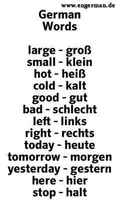 Learn German with us! www. Learn Dutch, Learn German, German Grammar, German Language Learning, Grammar Rules, Design Guidelines, Germany, Youtube, Words