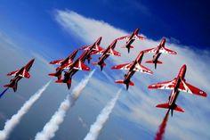 Red Arrows - the RAF Acrobatics Team