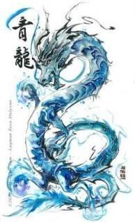 Dragon Luqman Reza Mulyono - Tattoo Thinks Chinese Dragon Drawing, Chinese Dragon Tattoos, Koi Dragon, Water Dragon, Dragon Tattoo For Women, Dragon Tattoo Designs, Mandala Skull, Tattoo Drawings, Body Art Tattoos