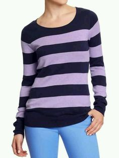 Striped Softest Sweater
