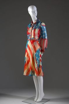 Catherine Malandrino's iconic Flag dress debuted in 2001