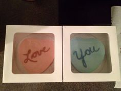 Love & You Companion Anniversary Individual Cakes