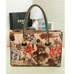 Hand Bag Motif Khaki