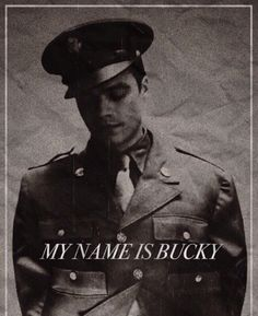 Hey Bucky,       I'm *insert name here*