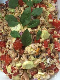 Seafood Panzanella °°°°° Panzanella di mare