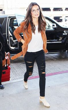 Celebrity Inspired Airport Outfits