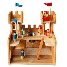 10 best holiday gifts for little kids 4-8: Handmade Waldorf style cherrywood play castle | Small Business Holiday Gift Guide 2020  Gifts for kids | Shop small | holiday gifts | Best gift guide | Gifts for girls | gifts for boys | gifts for kindergarteners | gifts for preschool | gifts for elementary kids | best Etsy gifts | Creative play | Waldorf toys | Etsy gifts for kids  #holidaygifts #giftsforkids #shopsmall