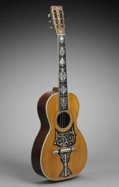 guitar 1890, America The Museum of Fine Arts, Boston