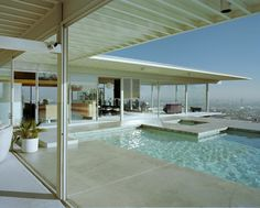 The Stahl House by Pierre Koenig Los Angeles, California