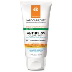 Shop for La Roche-Posay Anthelios Clear Skin Oil Free Sunscreen SPF 60 on Glam O' Sphere Boutique. Get the best price on La Roche-Posay Anthelios Clear Skin Oil Free Sunscreen SPF 60 in Nigeria. Make Up Geek, Clear Skin Face, Face Skin, Acne Prone Skin, Oily Skin, Skin Oil, Sensitive Skin, Make Up Online Shop, Facial Sunscreen