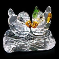 Feng Shui Crystal Mandarin Ducks with Gift Box Figurine 30746 >>> Read more  at the image link. Note: It's an affiliate link to Amazon.