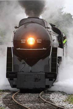 N&W 611 Test Run   Trains Magazine