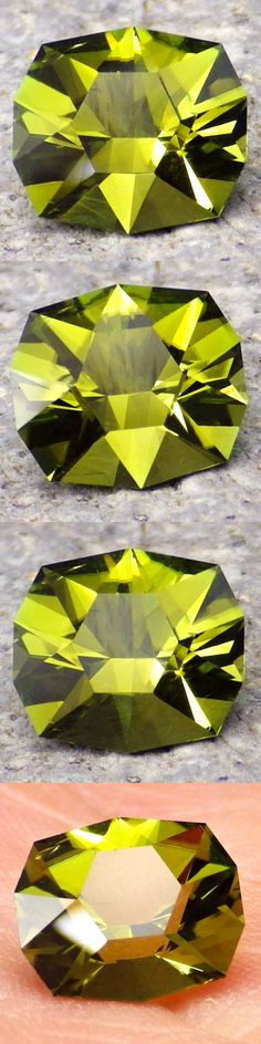 Tourmaline 10278: Tourmaline-Mozambique 2.36Ct Flawless-Intense Lemon Green+Yellow-Investm.-Video! -> BUY IT NOW ONLY: $350 on eBay!