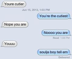 The Cutest Couple:   26 Texts You Need To See Before You Die