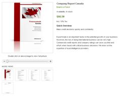Company Check Canada - How can I check Canadian company? How to check the legitimacy of your Chinese buyers or partners? Are they a real company? Are there financial information and rating data available? How can I get official data about the company?    However, the risk of doing international business can be very high. Commercial credit reports and company ratings can save you time and effort when faced with critical business decisions.