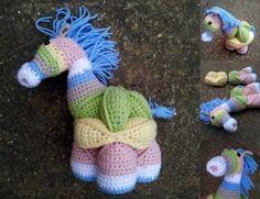 Amamani free crochet patterns Amish puzzle animals -- sooooo cute!