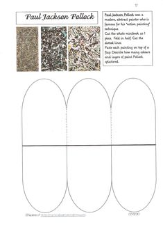 famous artists lapbook loads of minibooks aula de. Black Bedroom Furniture Sets. Home Design Ideas
