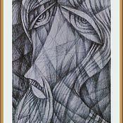 Картины и панно ручной работы. Ярмарка Мастеров - ручная работа И высь небес как отраженье. Handmade.