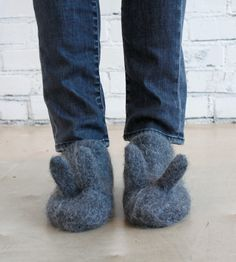 Image of Oui Presse Original Bunny Slippers