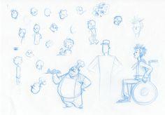 Character Design for Discover La Laguna