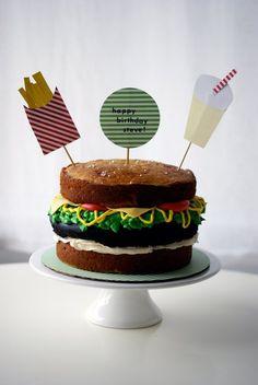 Hamburguer´s cake