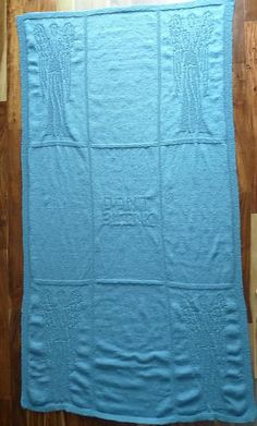 Ravelry: Weeping Angels Blinky Blanket pattern by Jillian Cameron