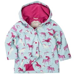 Hatley Ponies & Polka Dots Raincoat - Quality Kids Raingear at SugarBabies