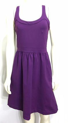 c76142bb8f Cynthia Rowley Womens S Purple Sleeveless Scoop Neck Knee-Length Party  Dress  CynthiaRowley