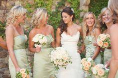 pastellgrüne Brautjungfernkleider hoher taille schulterfrei herzenform falten brustbereich