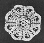Irish Crochet Bedspread 1946 ~ free pattern