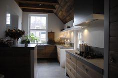 Massief handgemaakte keuken van Pure Dutch.