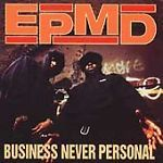 Business Never Personal by EPMD (CD, Jul-1992, Def Jam) FREE SHIPPING (RARE) PLEASE REPIN THANKS