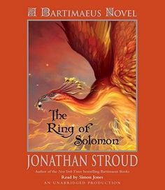 The Ring of Solomon (Bartimaeus Prequel) by Jonathan Stroud 5-9-13