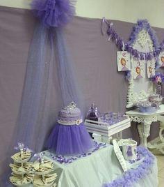 Fiesta cumpleaños Princesa Sofia en www.molua.es
