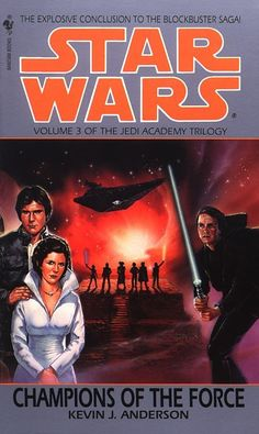 Star Wars: The Jedi Academy: Champions of the Force audiobook by Kevin Anderson - Rakuten Kobo The Force Star Wars, Vader Star Wars, Star Wars Fan Art, Star Trek, Darth Vader, Star Wars Novels, Star Wars Books, Science Fiction Books, Literature Books