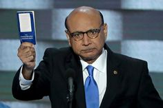 "Gold Star father Khizr Khan has canceled an upcoming speech in Toronto after being told that his ""travel privileges are being reviewed"" Rosa Hwang reports. Khan and his wife were born in Pakistan, but Khizr has been an American citizen for MORE THAN 30 YEARS!!! The Khans famously accused President Trump of having ""sacrificed nothing and no one"" during a speech at the Democratic National Convention last year; their son died in the Iraq War in 2004. This is America???"