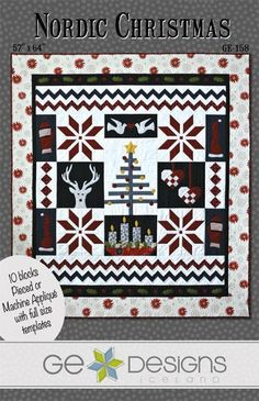 Nordic Christmas Quilt Pattern | Craftsy