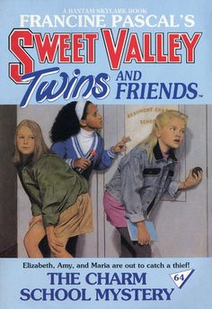 The Charm School Mystery (Sweet Valley Twins #64)