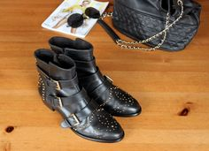 Ejvi Freedom: new in / studded leather ankle boots