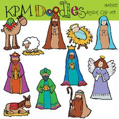 Free Clip Art Nativity Scene Showing Pic Gallery For Christmas Manger Clipart Image Christmas Manger, Christmas Crafts, Christmas Patterns, Christmas Templates, Christmas Time, Christmas Stockings, Christmas Ideas, Christmas Decorations, Nativity Characters